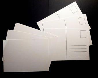 Postcard front plain back ruling - 20 piece