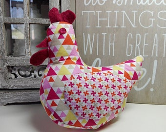 Toy kids room decor fabric chick / Easter decor