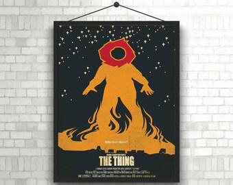 Jonh Carpenter's THE THING minimal unique Poster