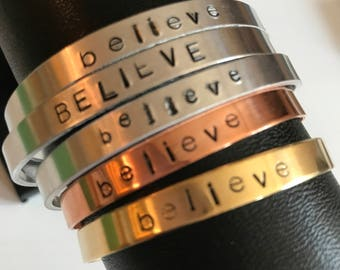 Handstamped Personalized Bracelet! The Perfect Gift!