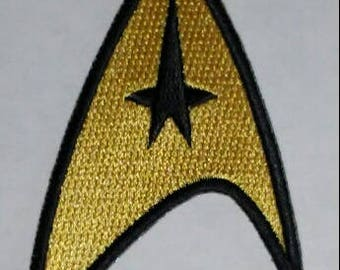 FREE SHIPPING*** Star Trek Command Insignia Patch