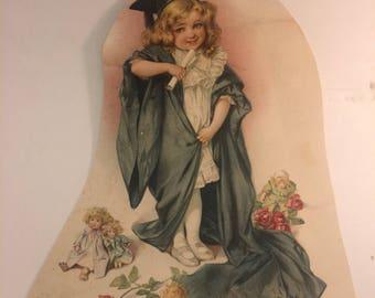 1904 equitable life insurance calendar lithograph by Maude Humphrey