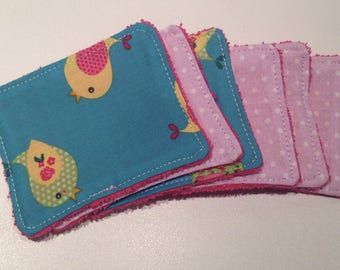 """Cheep-cheep"" Washcloths to take care of yourself in softness while respecting the planet"