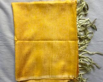 Indian Silk Scarf - Handmade
