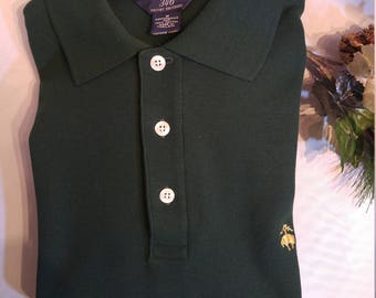 Classic Brooks Brothers L/S Knit Polo Shirt (M)