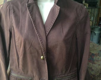 Brown Dress jacket