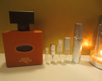 David Jourquin - Cuir Mandarine 1-10ml travel samples, niche perfume