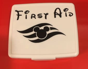 Disney Cruise Fish Extender Gift First Aid kit - DCL FE Gift