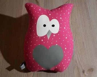 louisette Fuchsia OWL plush