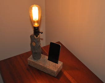 Accent Lamp Phone Charger Station