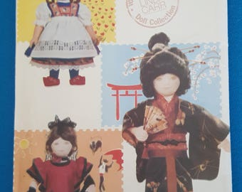 Vintage Vogue Craft 7071 International Doll Costumes by Linda Carr ~ Uncut