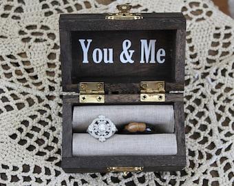 Ring Bearer Box/Custom Ring Bearer Box
