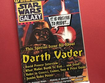Star Wars Galaxy Magazine #11 — Direct from Printer