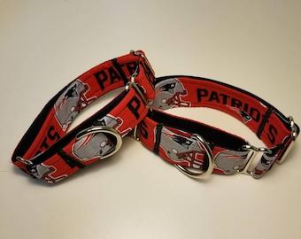 Handmade  Martingale New England Dog Collar