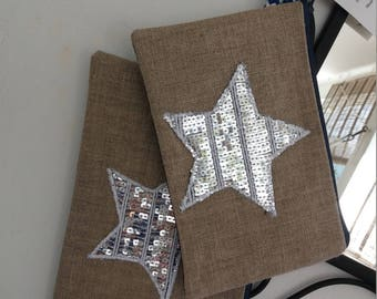 Small Silver Star pouch
