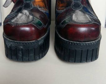 Vintage retro 90's women's clogs \ sandals