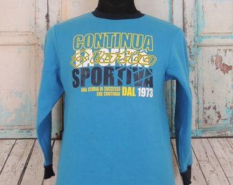 Vintage LOTTO Sweatshirt, Sportswear Sweater, Size 160