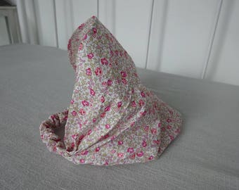 Fichu Liberty eloise pink, size 1 to 3 years old baby