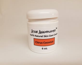Acne Annihilated: 100% Natural Skin Care Cream (Free Jewelry Gift Item Included)