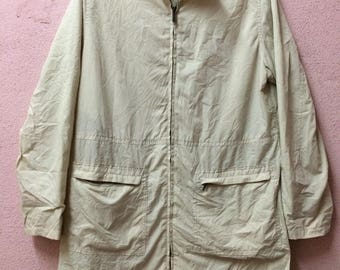 Vintage CK Calvin Klien Coats Windbreaker Jacket Adult Size