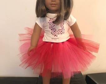 American Girl doll sized tutu