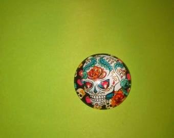 skull cameo skull glass model 2