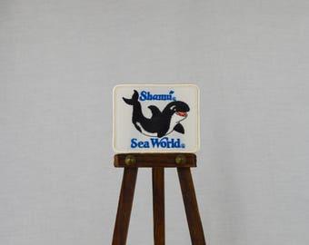"Vintage Sea World ""Shamu"" Patch"