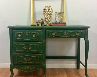 Custom Vintage French Provincial Desk