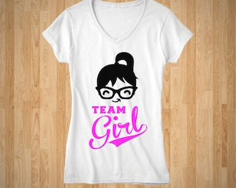 Team Girl - Baby Shower T-Shirt
