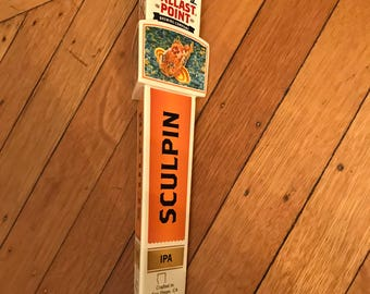 BallastPoint Sculpin IPA Beer Tap Handle