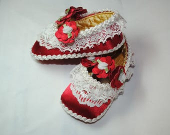 Rita Girl's Baby Shoes 6-9 months