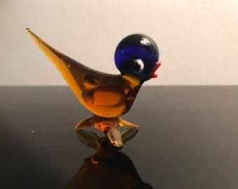 Murano glass bird