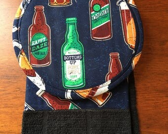 PotHolder Set (Two potholders and one towel) - BEER