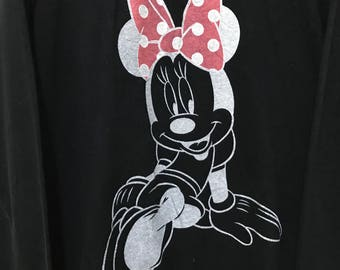 Sale!!! Disney Minnie Pullover Big Minnie
