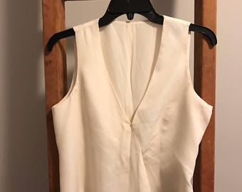 Silk White Blouse
