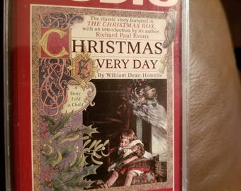 Christmas Every Day audio book on cassette tape. William Dean Howells