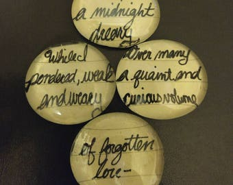 The Raven inspirational stones
