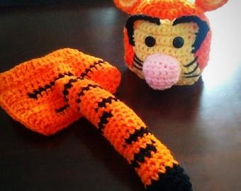 Tigger Crochet Infant Set