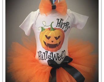 Happy Halloween Tutu Outfit