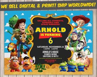 Toy Story Invitation, Toy Story Birthday, Toy Story Birthday Invitation, Toy Story Party, Toy Story Invite, Toy Story Printable
