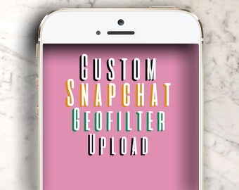Snapchat Geofilter Submission Service
