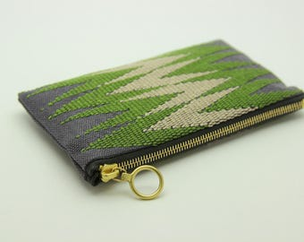 Handmade handwoven Purse made from cotton and linen.