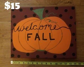 Fall/ Halloween decor sign