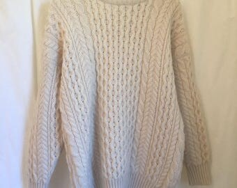 vintage wool highland home industries sweater