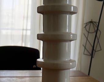 Vase en céramique vintage esprit 70