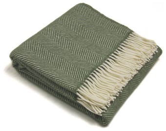 Tweedmill Fishbone Blanket Throw
