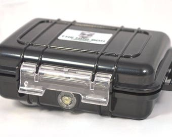 """The Hog Box Company - Standard 6"""" Travel Stash Box Perfect for Easy Storage and Accessibility in Rain, Snow or Sun"""
