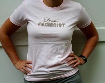 Feminist Pink T-shirt