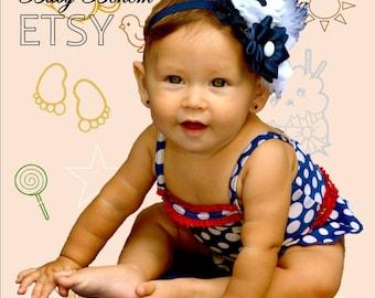 Baby Headband,  Baby Girl Bows and Headbands,  New Baby Gift, Newborn Headband Bows Baby Head Band / Lazo, bandana, cintillo, tocado