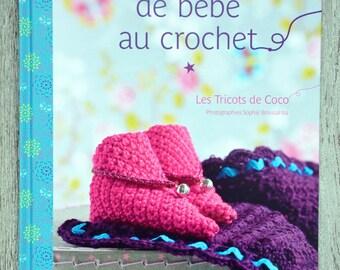 NEW - Book set of baby crochet